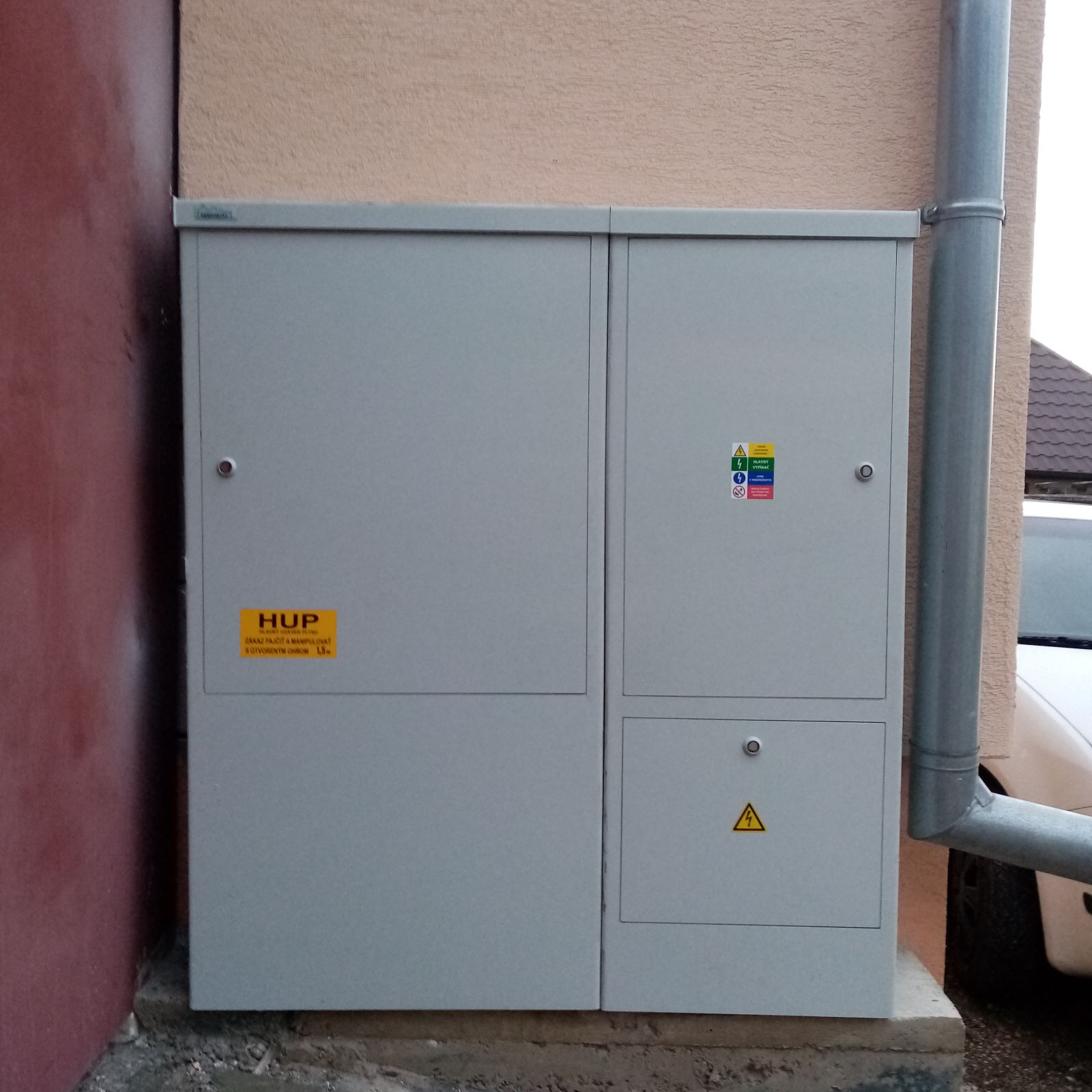 plynova skrinka