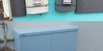 Plynomerová skrinka