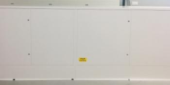 Plastová skrinka na plynomery - uchytenie na stenu